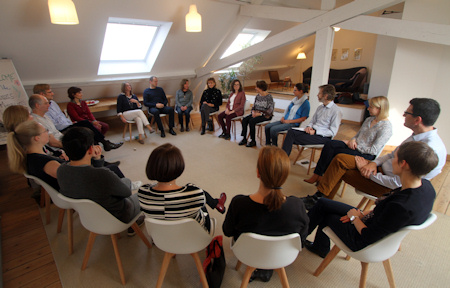 Mindfulness training at the Brussels Mindfulness Institute