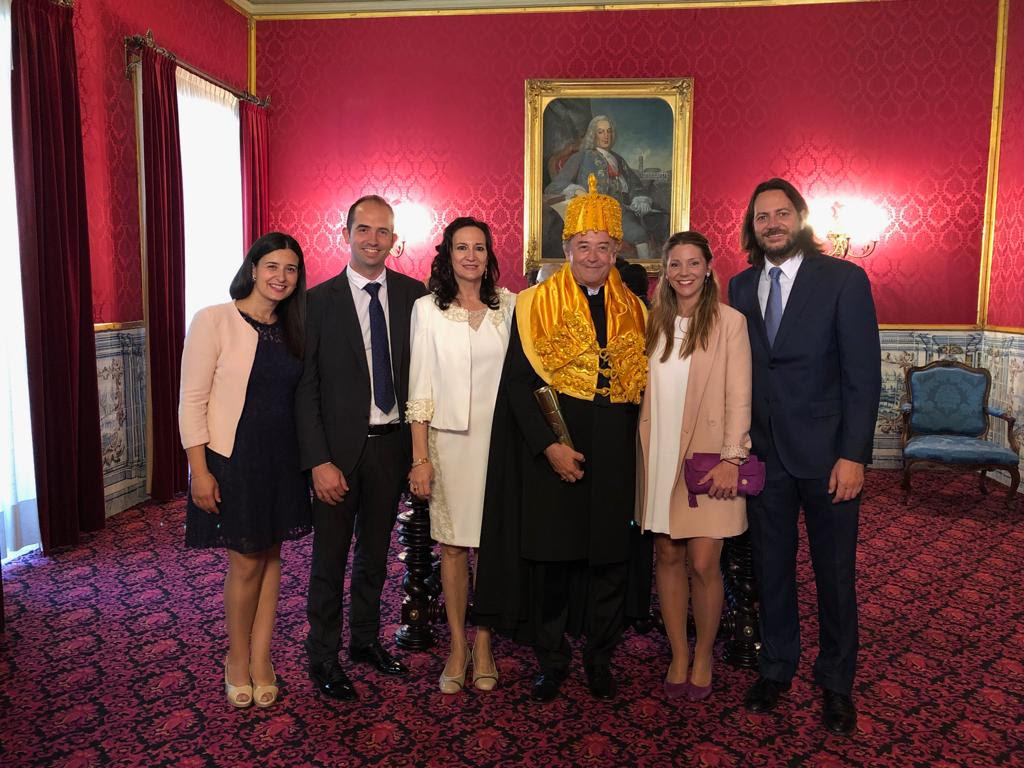 Dr. Luis Martí-Bonmatí is honored with an honorary doctorate from the University of Coimbra