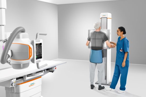 The Ysio X.pree DR system includes automation tools to improve efficiency