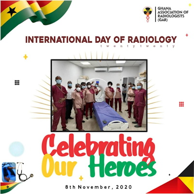 Members of the Ghana Association of Radiologists got into the spirit of the occasion