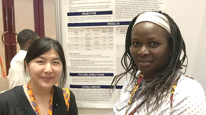 Dr. Lulu Sakafu and coauthor Dr. Amie Lee from UCSF