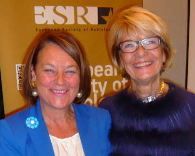 French MEPs Natalie Griesbeck and Elisabeth Morin-Chartier