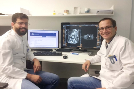 Dr. Daniel Pinto dos Santos and Dr. Thorsten Persigehl