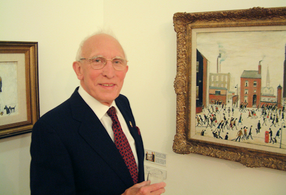 Isherwood was a history buff who admired the work of local artist L.S. Lowry