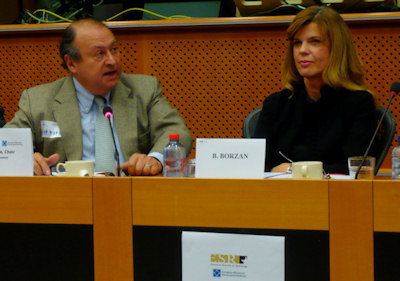 Guy Frija and Biljana Borzan