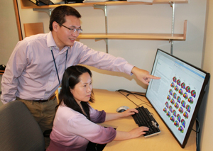 Hesheng Liu, PhD, and Dr. Danhong Wang