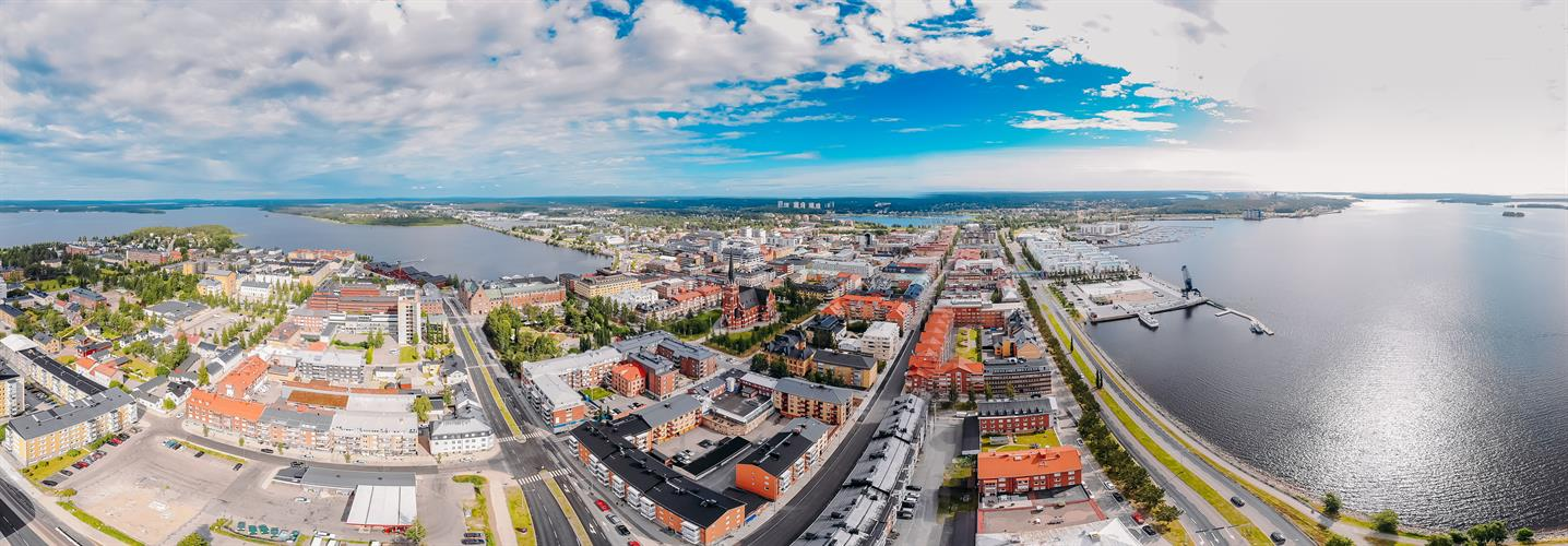 Luleå, the largest city in Swedish Lapland
